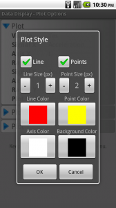 Plot Style Options